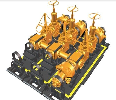 GE-Modular-Frac-Manifold-hydraulic-fracturing-shale-unconventional-resources-oil-drilling-extraction-EDIWeekly