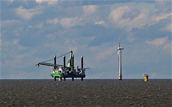 wind machine share price