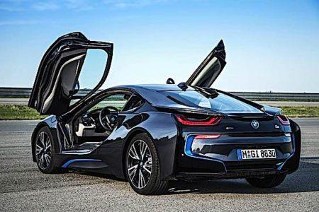 Engineered Design Insider BMW i8 doors up hybrid electricOil Gas Automotive Aerospace Industry Magazine