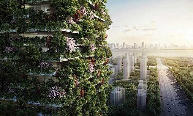 Engineered Design Insider Vertical Forest Nanjing Green TowersOil Gas Automotive Aerospace Industry Magazine