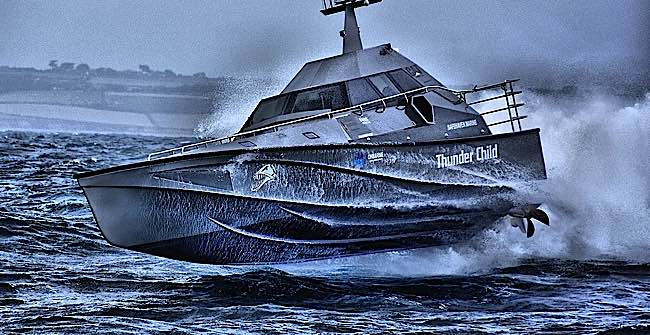 Engineered Design Insider Wicked profile of Thunder Cat a Searh and Rescue patrol unsinkable boatOil Gas Automotive Aerospace Industry Magazine