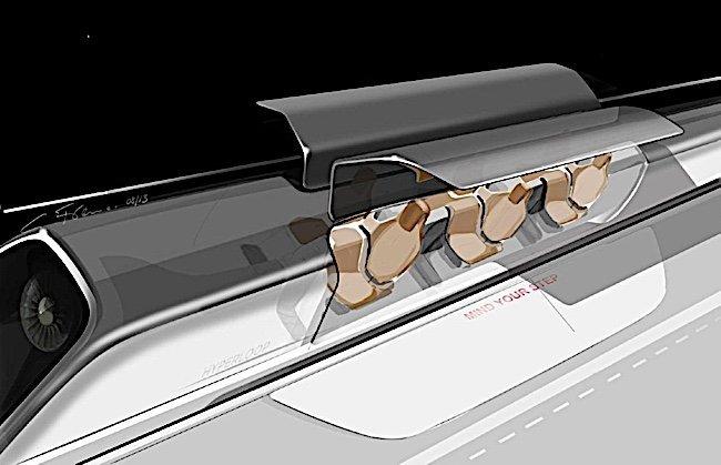 Engineered Design Insider Hyperloop with doors open at stationOil Gas Automotive Aerospace Industry Magazine