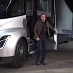 Elon Musk's green vision extends to the Tesla Semi, capable of hauling 80,000 pounds for up to 400 miles on a single 30 minute charge
