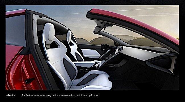 Nice Engineered Design Insider Tesla Roadster Interior Is Very  SportyOil Gas Automotive Aerospace Industry Magazine