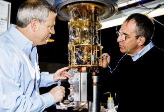 Quantum Computer in the Works