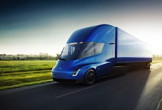 Tesla Announces New All-Electric Semis