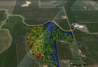 Aerial Imaging Designed to Detect Disease, Damages in Crops