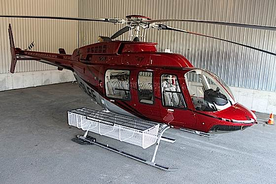 Dart Aerospace helicopter. Dart is launching a new corporate identity.