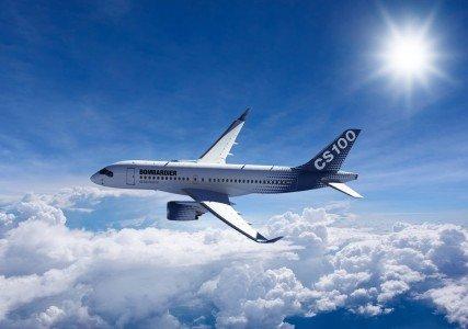 CS100 Bombardier CSeries commercial jets Paris Air Show Boeing Dreamliner EDIWeekly