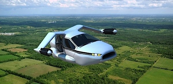 Terrafugia TFX concept VTOL hybrid vehicle EDIWeekly