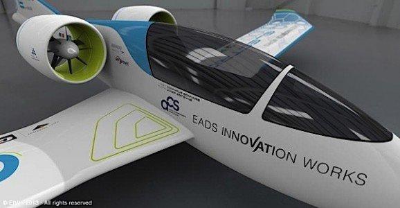 eFan hangar EADS Paris Air Show electric aircraft EDIWeekly