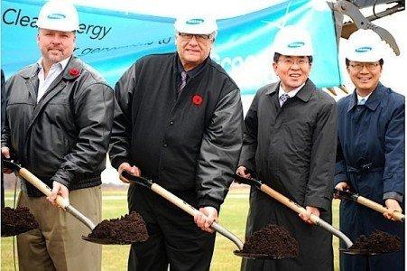 Samsung Siemens Grand Renewable Wind Solar Ontario Haldimand EDIWeekly