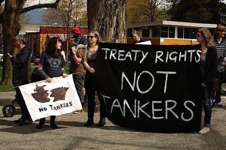 treaty rights tankers oil pipeline british columbia enbridge northern gateway EDIWeekly