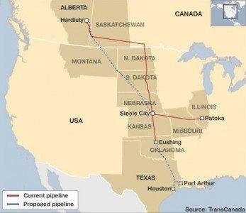 TransCanada KeystoneXL pipeline Alberta Texas Gulf Coast President Obama Harper EDIWeekly