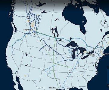 TransCanada pipeline KeystoneXL natural gas crude oil Western Canada Eastern Canada EDIWeekly