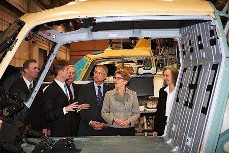 Wynne Trapp Airbus Helicopters Fort Erie manufacturing aerospace EDIWeekly