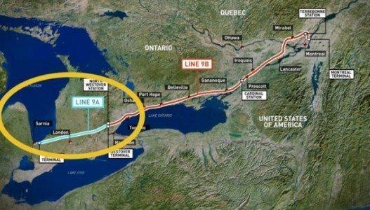 Enbridge Line9 oilsands Alberta Ontario Quebec EDIWeekly
