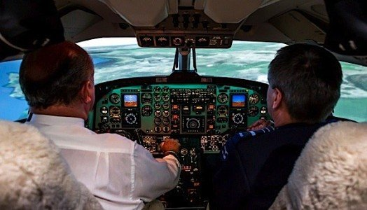 flight simulator CAE King Air 350 military aircraft EDIWeekly