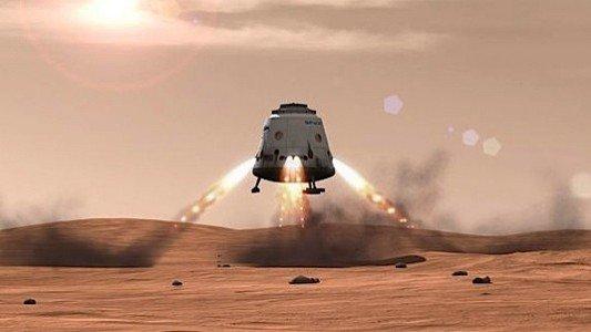 SpaceX Mars Dragon Elon Musk NASA astronaut manned mission Mars EDIWeekly