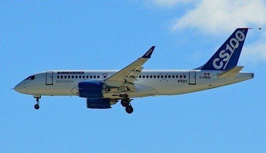 CSeries Bombardier commercial jet aerospace industry Canada EDIWeekly