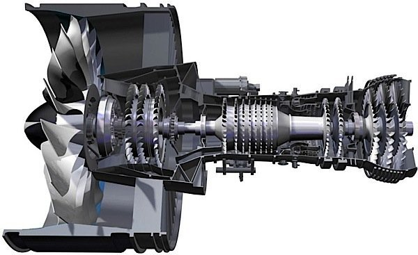 Pratt-Whitney-PurePower-geared-turbofan-engine-compressors-fan-gearbox-Bombardier-CSeries-Farnborough-Airshow-EDIWeekly