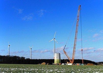 construction wind turbines NextEra Energy Goshen Wind Centre Huron County Environment Canada EDIWeekly