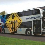 ADL Enviro500 double deck bus Metrolinx GOTransit accessibility EDIWeekly