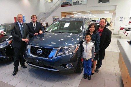 Nissan car sales Canada Pathfinder Platinum Micra Verso Titan EDIWeekly