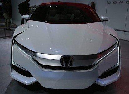 Honda FCVConcept Detroit Auto Show Honda Chrysler Toyota GM Ford autonomous driverless radar collision Google Nissan EDIWeekly