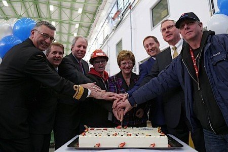 Irving Shipbuilding McKay Halifax Arctic Offshore Patrol Ships frigates prime contractor EDIWeekly