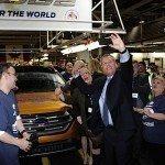 Ford Canada Edge utility vehicle crossover global robotics retooling manufacturing EDIWeekly