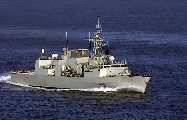 Halifax-class-frigate-Canada-Navy-surveillance-Wescam-manufacturing-technology-EDIWeekly