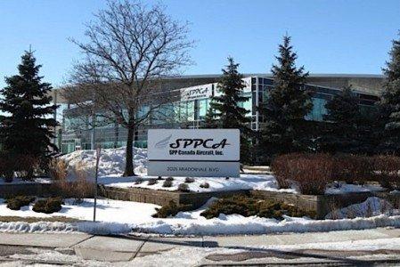 SPPCA Misssissauga facility landing gear Bombardier Honda Mitsubishi Gulfstream commercial aircraft manufacturing EDIWeekly