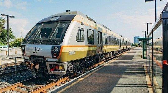 UP Express transit infrastructure Ontario OPTA CUTA hydro carbon budget EDIWeekly