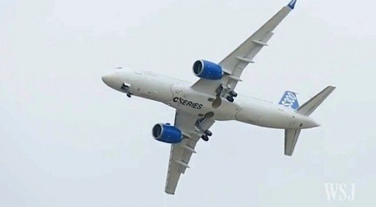BOMBARDIER Paris CSeries Boeing Airbus EDIWeekly