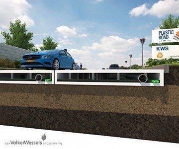 2plastic road KWS Netherlands asphalt construction maintenance Condo.ca