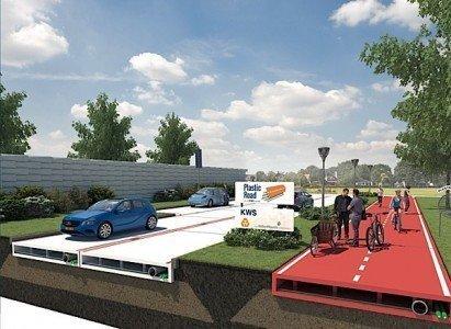 plastic road KWS Netherlands asphalt construction maintenance Condo.ca
