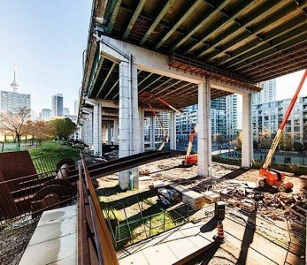 Waterfront Toronto Gardiner underpass park development EDIWeekly