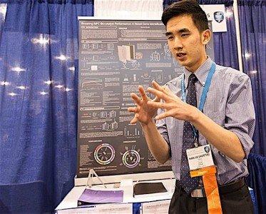 Austin Wang Intel Science Fair microbial fuel cell EDIWeekly
