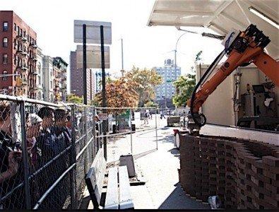 Daimler brick wall robot self fdriving transport truck automation Canada employment industry EDIWeekly