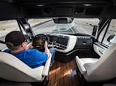 Daimler self fdriving transport truck automation Canada employment industry EDIWeekly