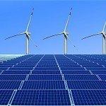 bloomber renewable energy report solar wind gas coal elecricity power generation EDIWeekly