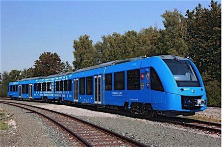 Alstom Hydrogenics hydroen fuel cell commuter train Europe EDIWeekly