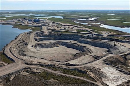 Gahcho Kue diamond mine Northwest Territories De Beers EDIWeekly
