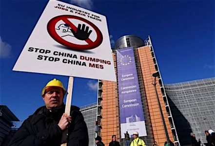steel china dumping Europe Canada Trudeau trade subsidizing competition unfair EDIWeekly