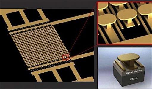 metamaterial gold nanostructure UC engineer transistor semiconductor photoemission EDIWeekly
