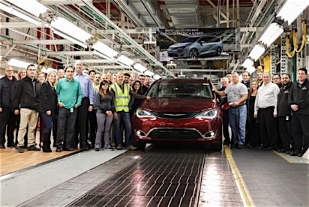 Chrysler Fiat Pacifica Hybrid Windor assembly plant EDIWeekly