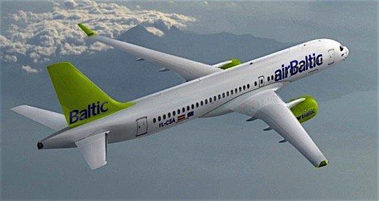 airBaltic Bombardier CSeries CS300 Bellemare aerospace Canada EDIWeekly