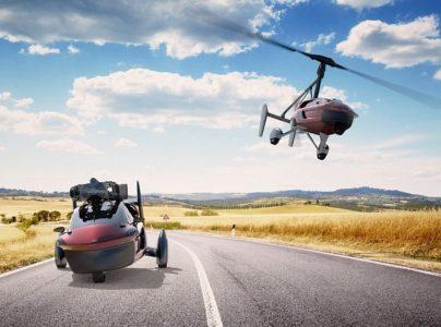 PAL V gyrocopter Neetherlands flying car runway takeoff landing cruise EDIWeekly