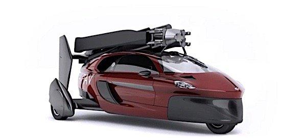 PAL V sports car gyrocopter Neetherlands flying car runway takeoff landing cruise EDIWeekly